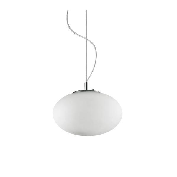 Bílé závěsné svítidlo Evergreen Lights Kulo