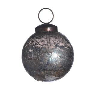 Set šesti skleněných ozdob, Artifact, kouřová
