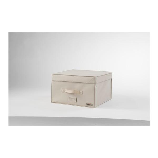 Svetlobéžový vákuový box Compactor, šírka 42 cm