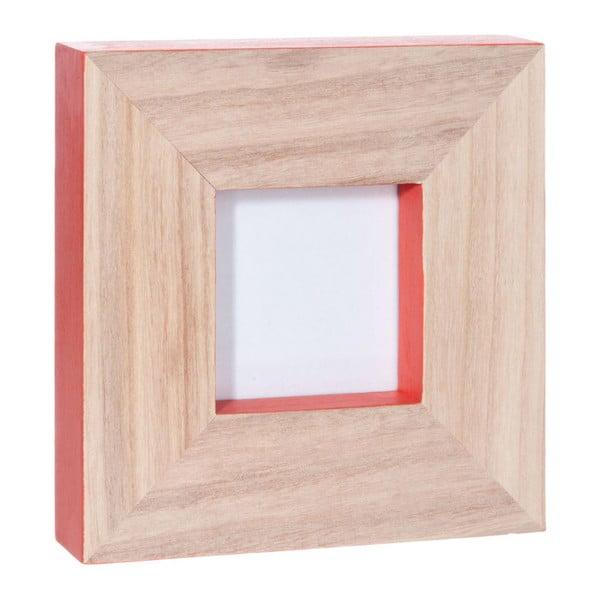 Fotorámeček Coral Wood, 20x20x4 cm