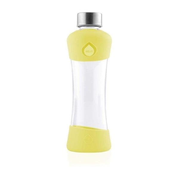 Active Lemon sárga boroszilikát üvegpalack, 550 ml - Equa