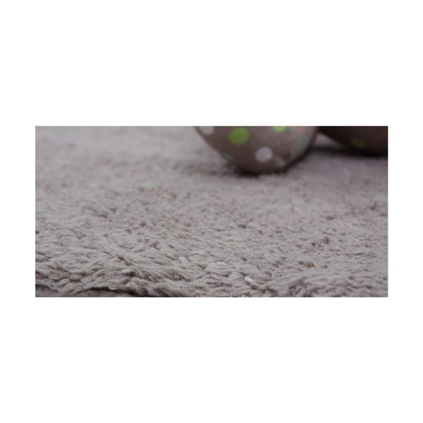 Dětský hnědý koberec Nattiot Little Teddy, 80x100cm