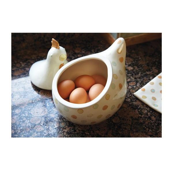 Miska na vajíčka Classic Dots