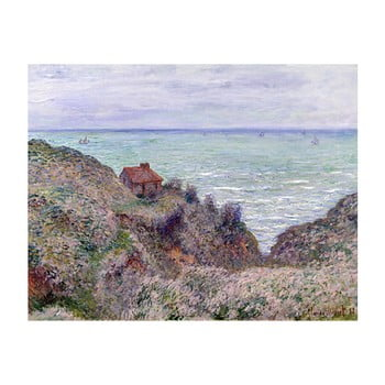 Reproducere tablou Claude Monet – Cabin of the Customs Watch, 50×40 cm de la Fedkolor