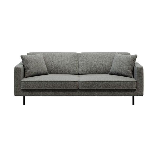 Kobo sötétszürke háromszemélyes kanapé - MESONICA