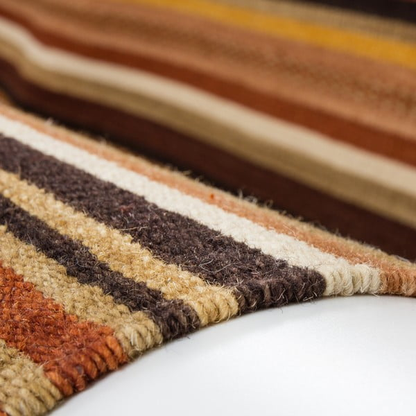 Vlněný koberec Atacama 120x170 cm, hnědý