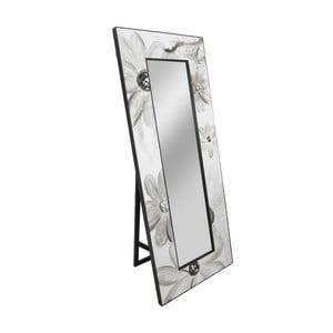 Volně stojící zrcadlo s dekorativním rámem Mauro Ferretti Muro Daisy, 30 x 120 cm