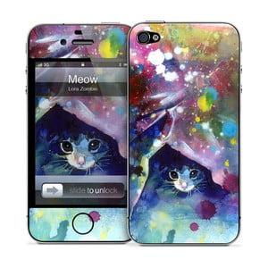 Samolepka na iPhone 4/4S, Meow