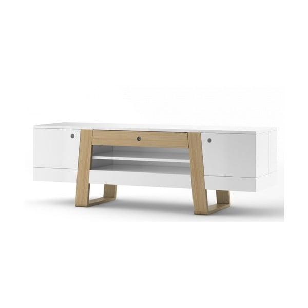 Bílý televizní stolek Absynth Magh