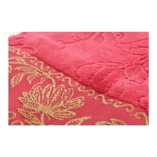 Sada ružové osušky a ručníku Asu