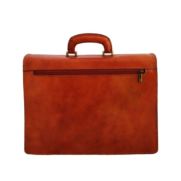 Kožený kufřík Passito, medový