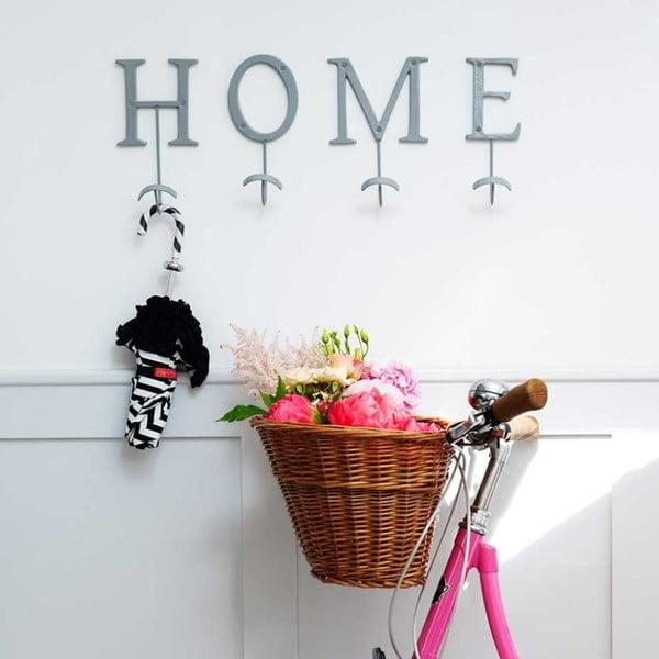 Dekorativní   věšák Home Grey