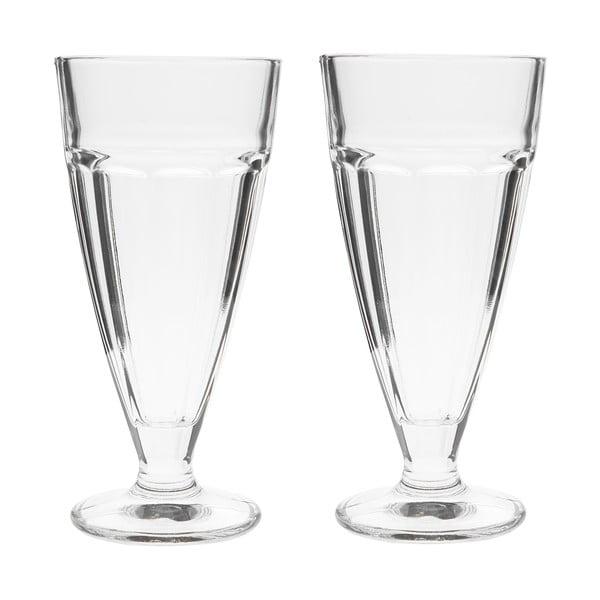 Sada 2 dezertních sklenic, 18 cm