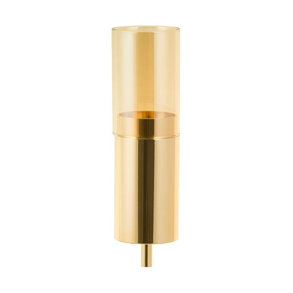 Svietnik zlatej farby Santiago Pons Luxy, výška 49 cm