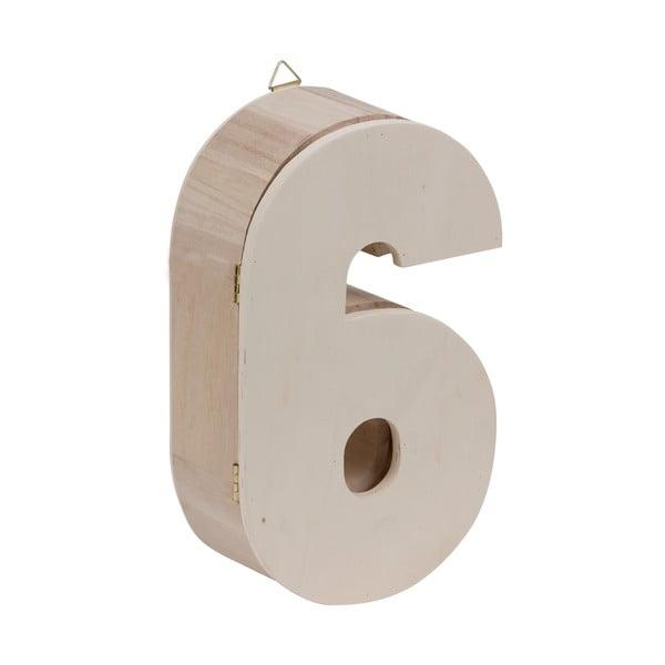 Nástěnný box Number 6