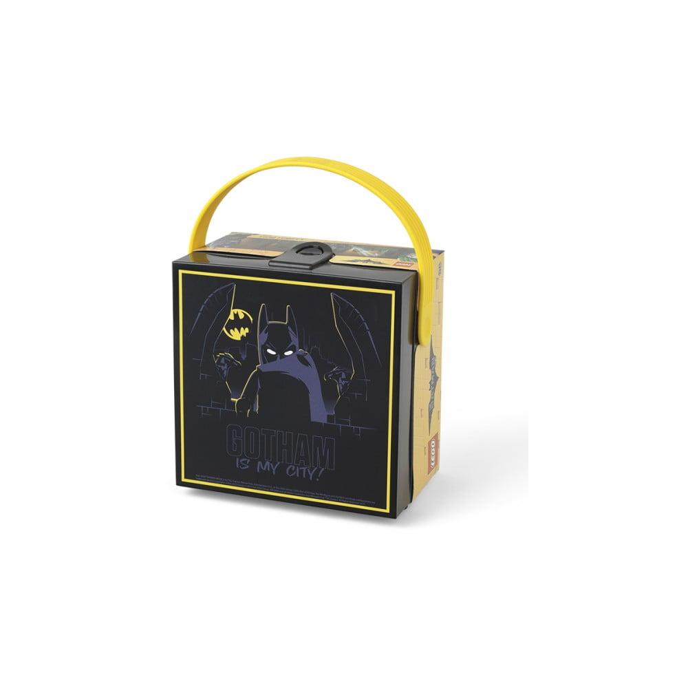 Černý úložný box s rukojetí LEGO® Batman