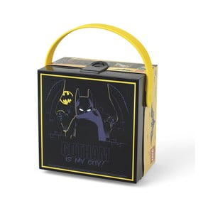 Cutie depozitare cu mâner LEGO® Batman, negru
