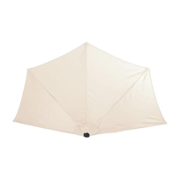 Krémový zahradní deštník ADDU Screen