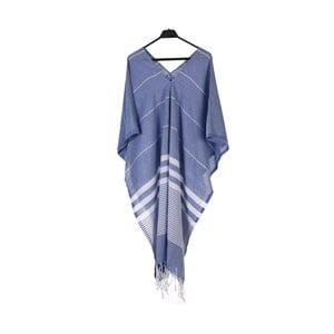 Plážové pončo z ručně tkané bavlny ZFK Jarle