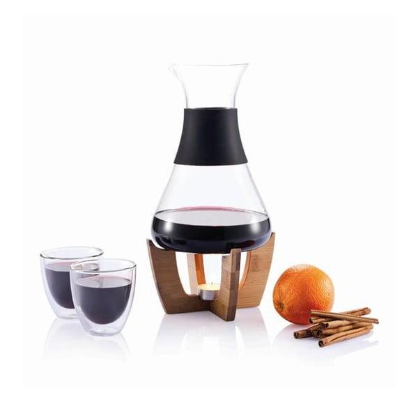 Set pentru vin fiert cu pahare XD Design