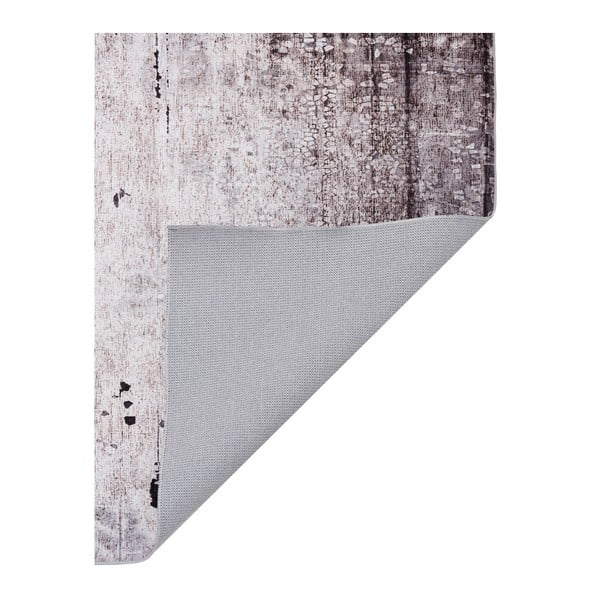 Šedý koberec odolný proti skvrnám Webtappeti Klimt, 120x180cm