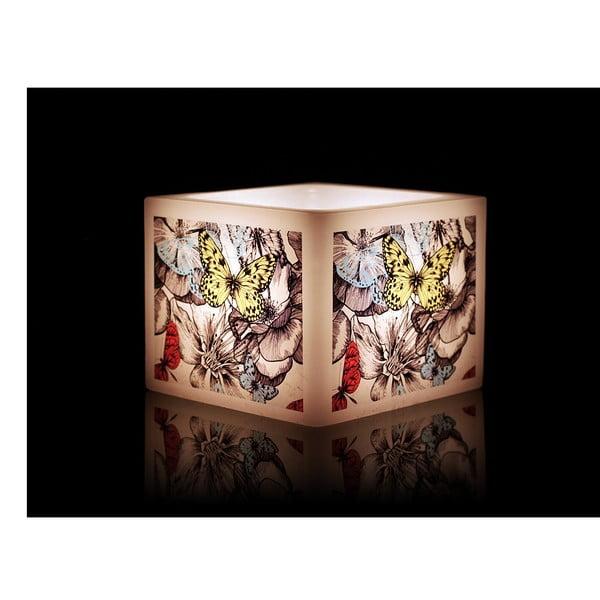 Svícen na čajovou svíčku Butterfly Floral