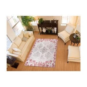 Šedorůžový koberec Universal Alice, 70x135cm