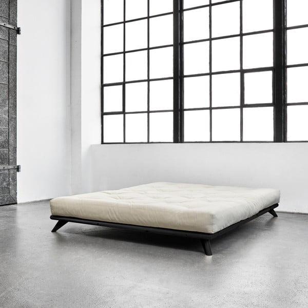 Pat Karup Senza Bed Black, 160 x 200 cm