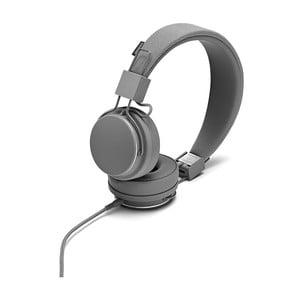 Tmavě šedá sluchátka s mikrofonem Urbanears PLATTAN II Dark Grey