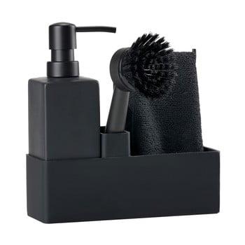 Set pentru spălat vase Zone Trio, negru imagine