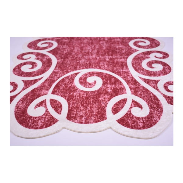 Odolný koberec Vitaus Gunna Kirmizi, 80 x 120 cm