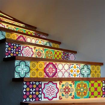 Set 2 autocolante pentru scări Ambiance Stair Adamaris, 15 x 105 cm de la Ambiance