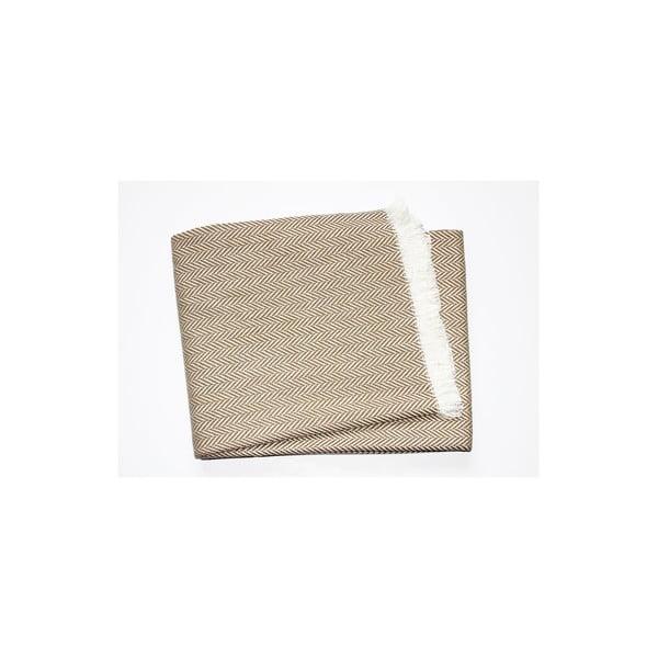 Lehká deka Skyline Brown, 140x180 cm