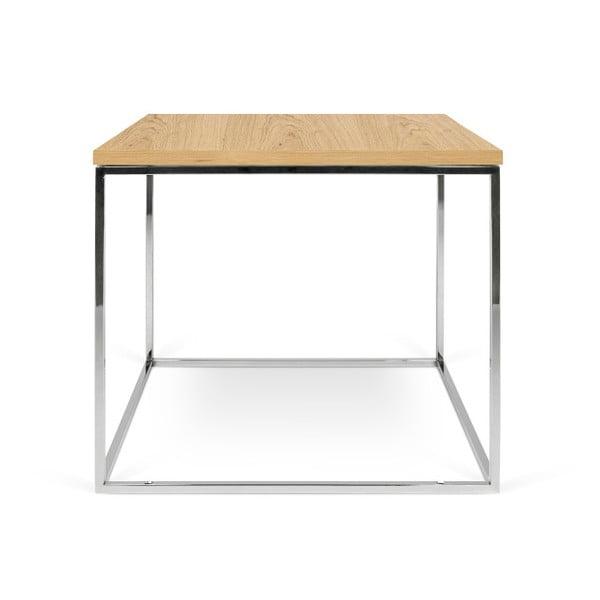 Konferenční stolek s chromovými nohami TemaHome Gleam, 50 cm