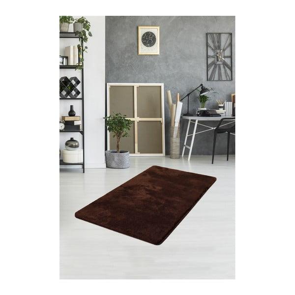 Hnědý koberec Milano, 120x70cm
