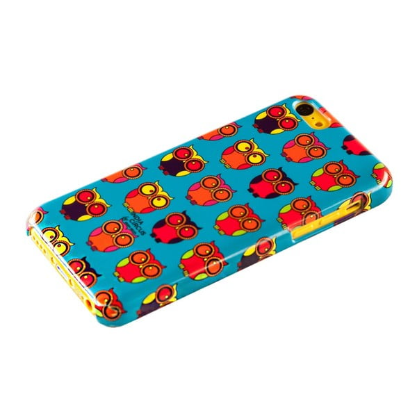 Obal na iPhone 5C Owl Howl