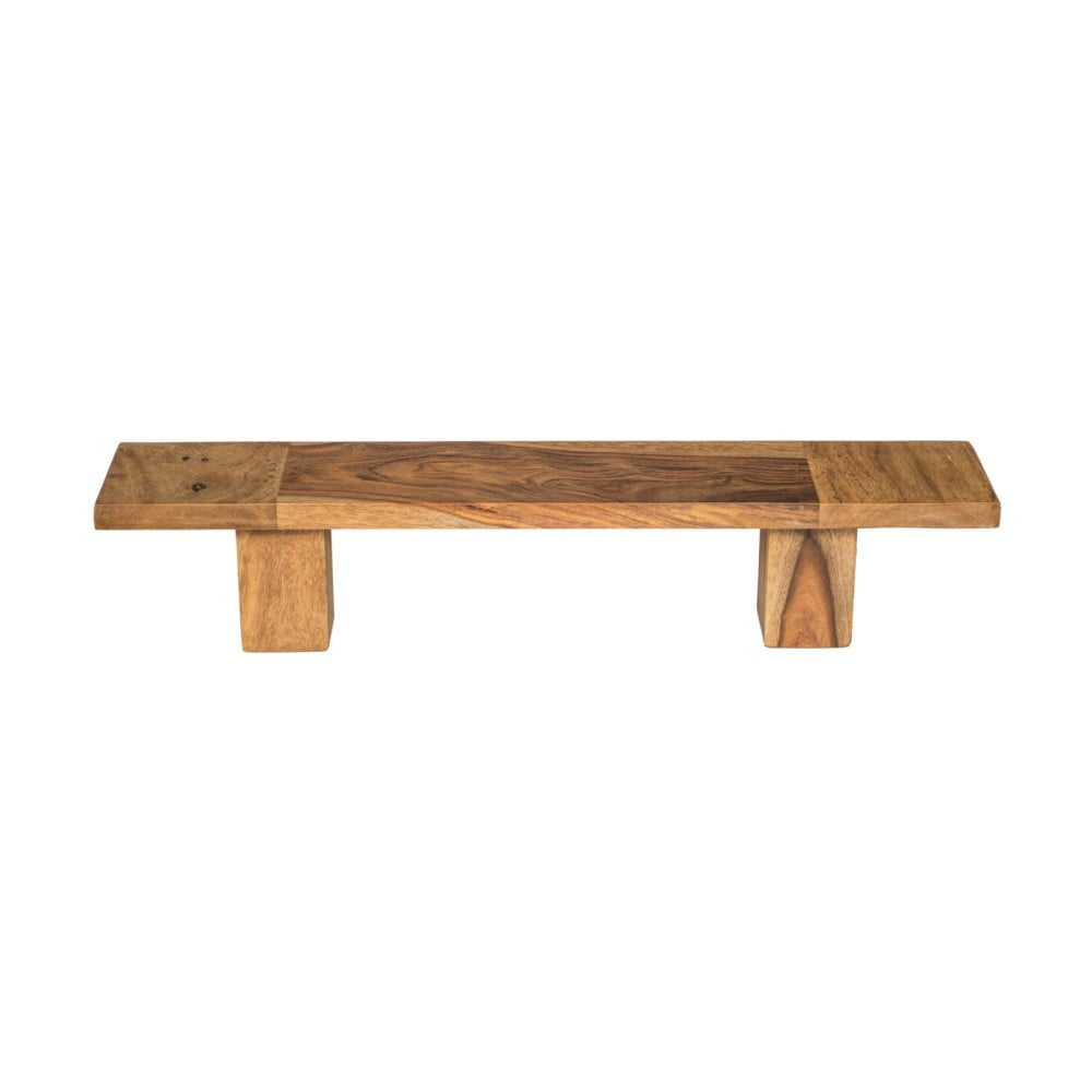Držák na osušky ze dřeva palisandru Woodking Lee, 50 cm