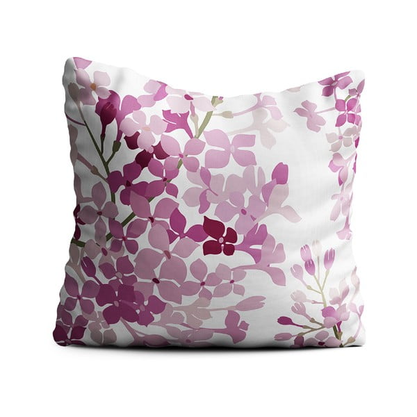 Różowa poduszka Oyo home Valeria, 40x40 cm