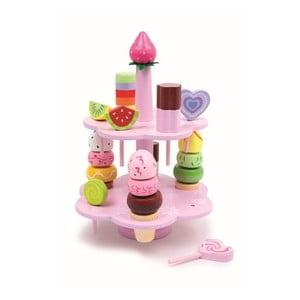 Dřevěná hrací sada Legler Confectionery