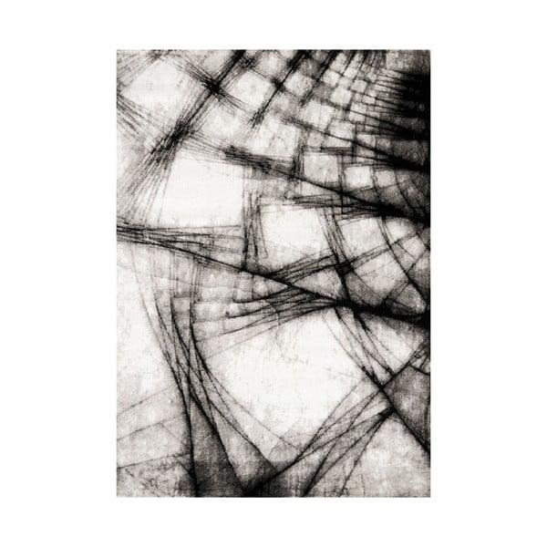 Manhattan Broadway szürke-fekete szőnyeg, 160 x 230 cm - Webtappeti
