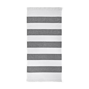 Černý ručník Aquanova Jolie, 50x100cm
