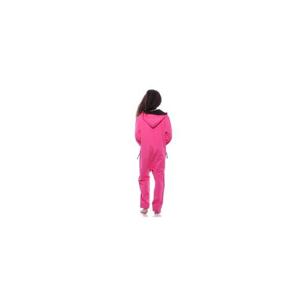 Unisex domácí overal Streetfly Thin Pink, vel. M