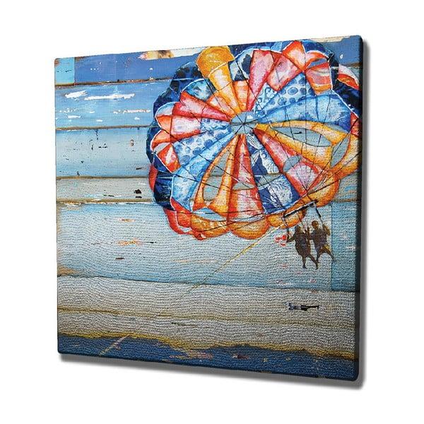 Tablou pe pânză Parachute, 45 x 45 cm