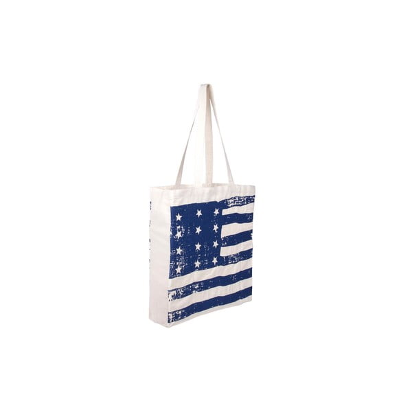 Plátěná taška Tri-Coastal Design Blue America