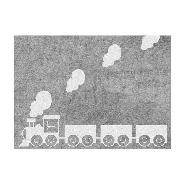 Koberec Tren 160x120 cm, šedý