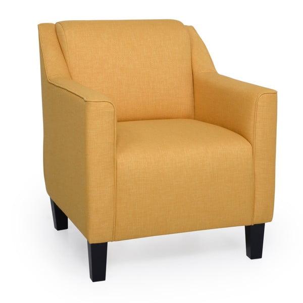 Basel sárga fotel - Softnord