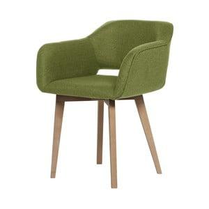 Zelená jídelní židle My Pop Design Oldenburg