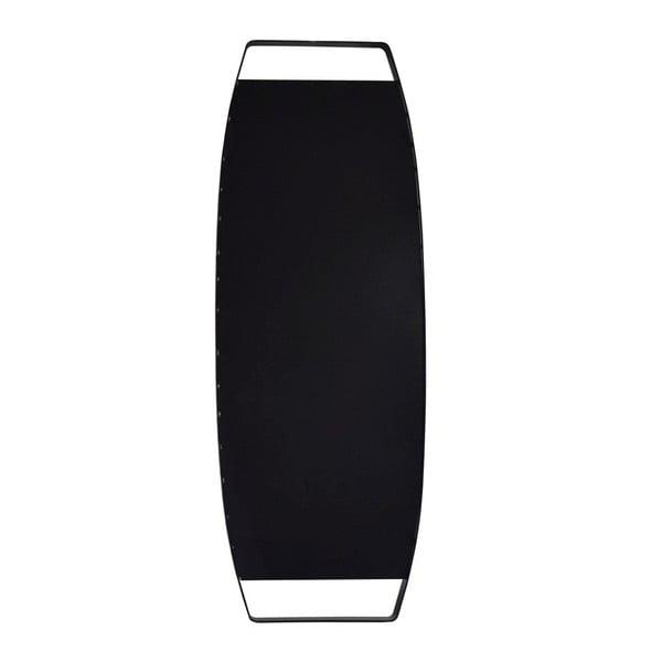 Nástěnné zrcadlo v černém rámu Design Twist Dalvik