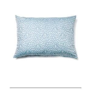 Světle modrý povlak na polštář z čisté bavlny Casa Di Bassi, 50 x 70 cm