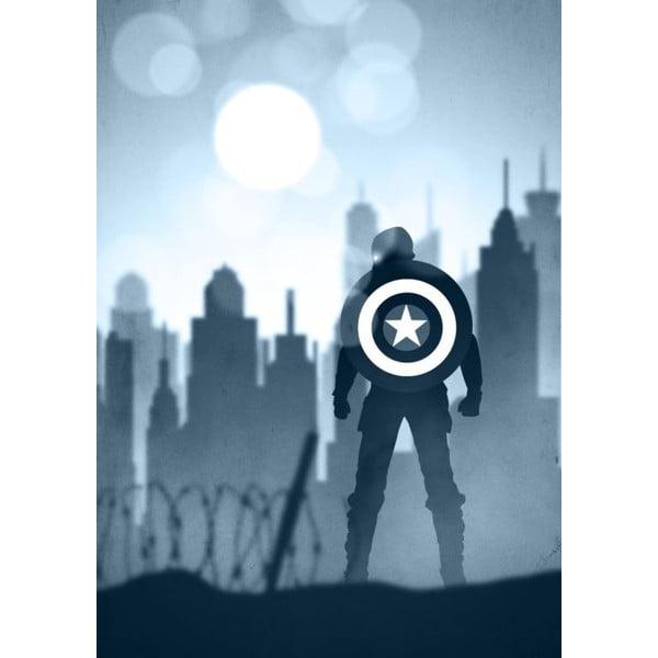 Marvel 25 poszter, 30 x 40 cm - Blue-Shaker